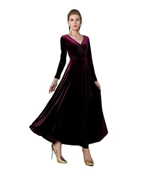 Amazon.com: Nueva Parte de vestido de fiesta de manga larga ...