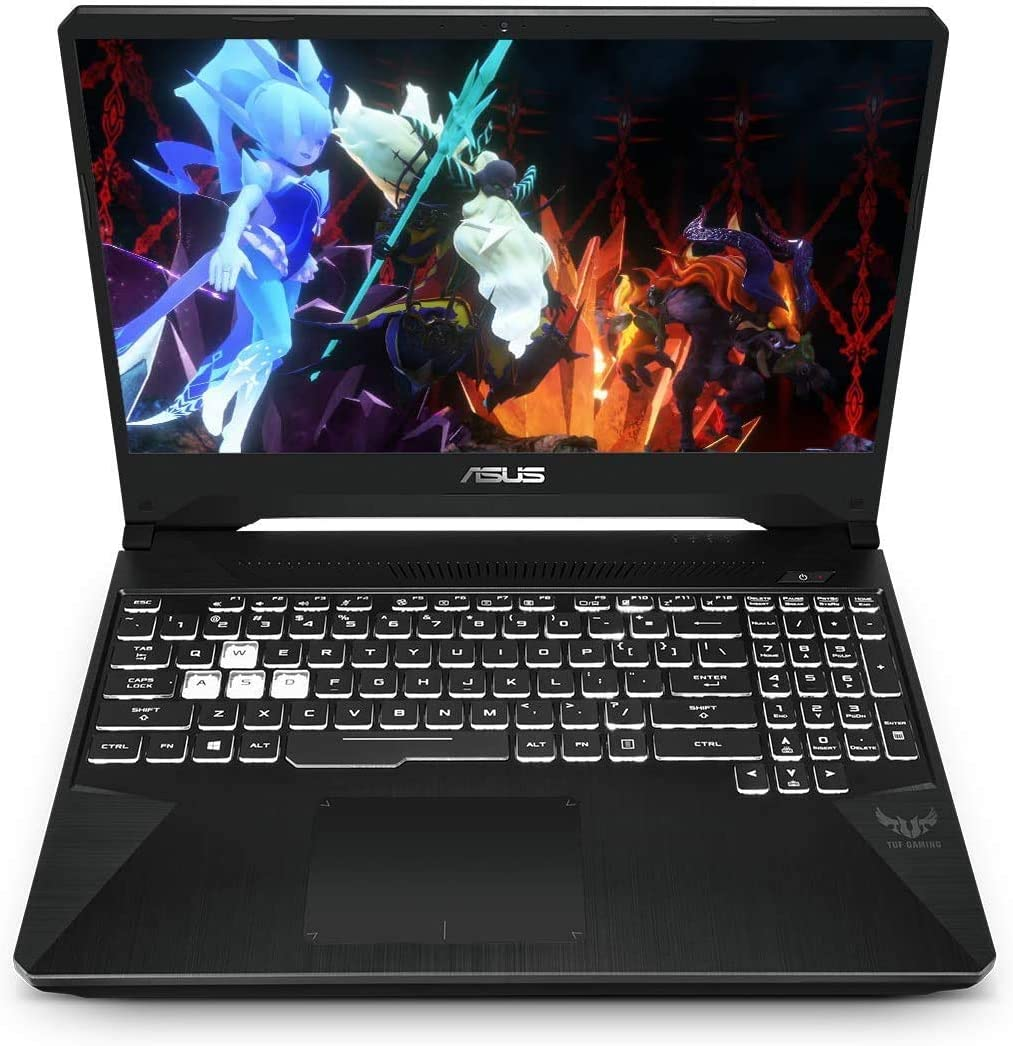"ASUS TUF 15.6"" FHD VR Ready Gaming Laptop Computer, Quad-Core AMD Ryzen 5-3550H (Beats i7-5700HQ), 8GB DDR4 RAM, 256GB PCIe SSD, NVIDIA GeForce GTX 1650, Black, Windows 10, BROAGE 64GB Flash Stylus"