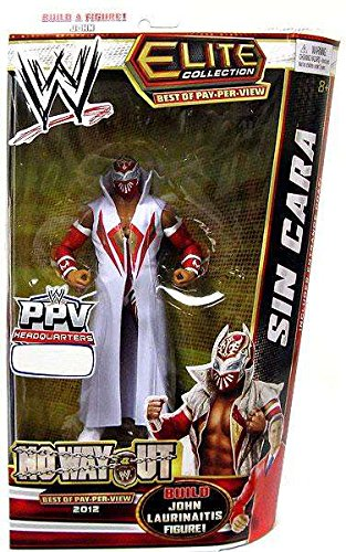 2012 EXCLUSIVE WWE ELITE BEST OF PPV NO WAY OUT ~ SIN CARA ~ WRESTLING ACTION FIGURE