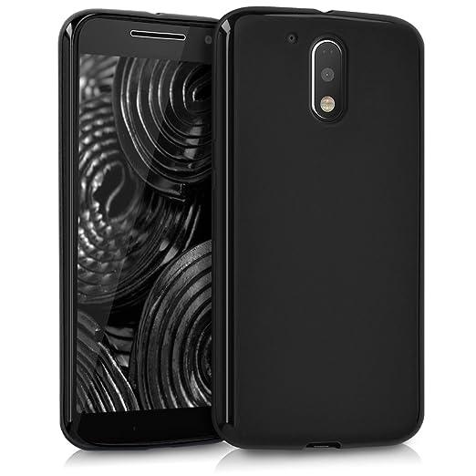 10 opinioni per kwmobile Cover per Motorola Moto G4 / Moto G4 Plus- Custodia in silicone TPU-
