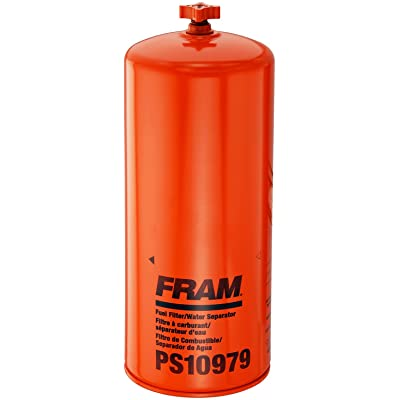 FRAM PS10979 HD Spin-On Fuel/Water Separator with Drain: Automotive
