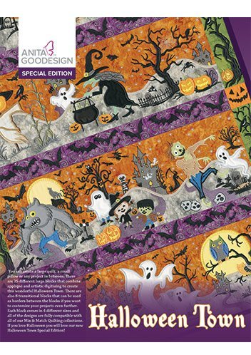 Anita Goodesign Embroidery Designs Halloween Town