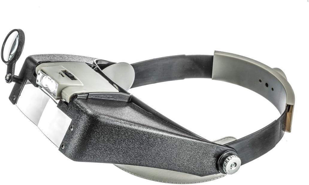 MH1067L SE Illuminated Dual Lens Flip-In Head Magnifier