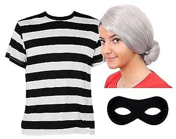 Einbrecher Ganoven Oder Rauber Kostum Fur Frauen Und Manner Unisex