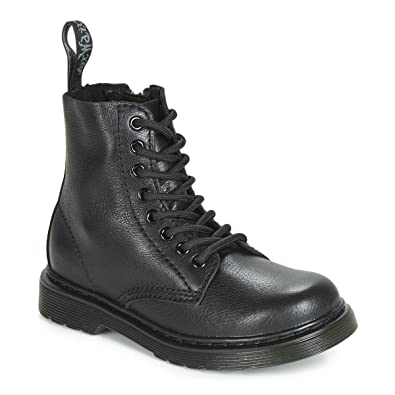 2f61f341024d Amazon.com | Dr. Martens Kid's Collection Unisex 1460 Pascal Mono Boot  (Little Kid/Big Kid) | Boots
