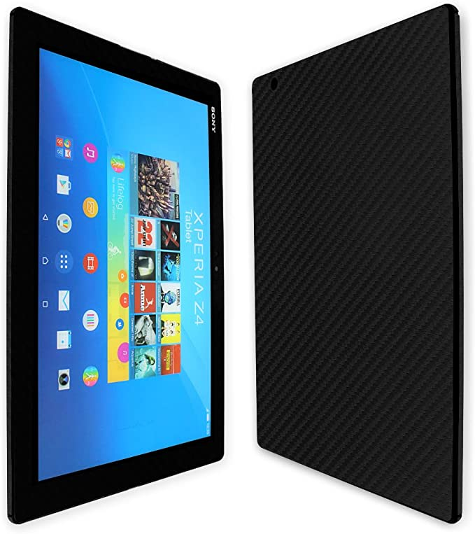 Skinomi Brushed Aluminum Skin+Screen Protector for Sony Xperia Z3 Tablet Compact