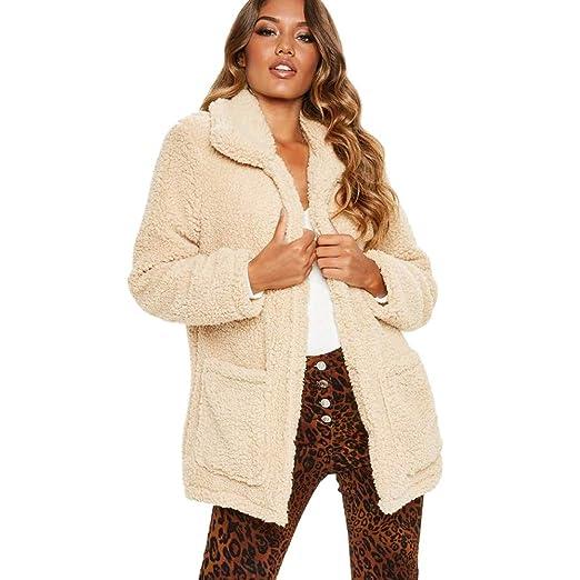 DICPOLIA Womens Plus Size Long Jackets Winter Coats Thicker Sweater Coat Overcoat Outwear (US Size
