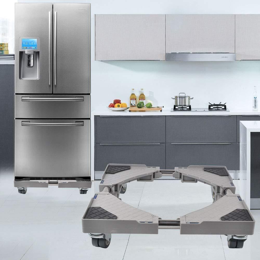 JYKJ Base de refrigerador extraíble multifunción Base Ajustable ...