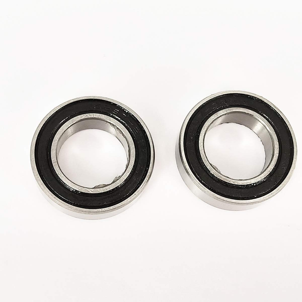 ZH Precision 2 Pack 15267-2RS 15x26x7MM Sealed Ball Bearings Suitable for use in Bycicle