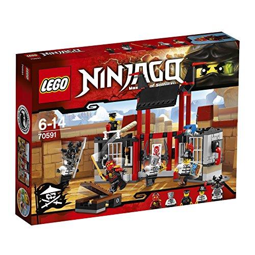 Lego Ninja Go Escape  Kuriputariamu Prison 70591