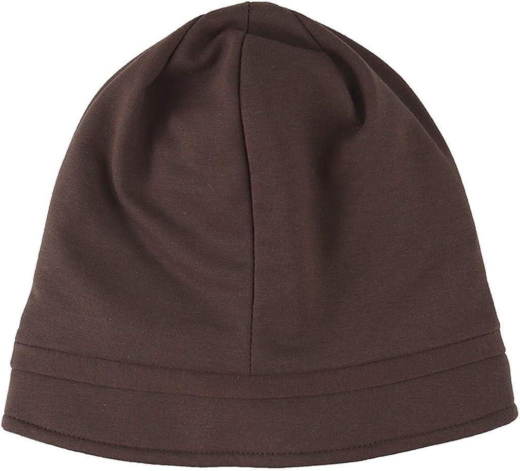 Nyuiuo Frauen solide Indien Lace Stretch Turban Hut Applique Haarausfall Kopftuch Wrap Baotou Hut ethnischen Haufen M/ütze L/ätzchen Monat Hut