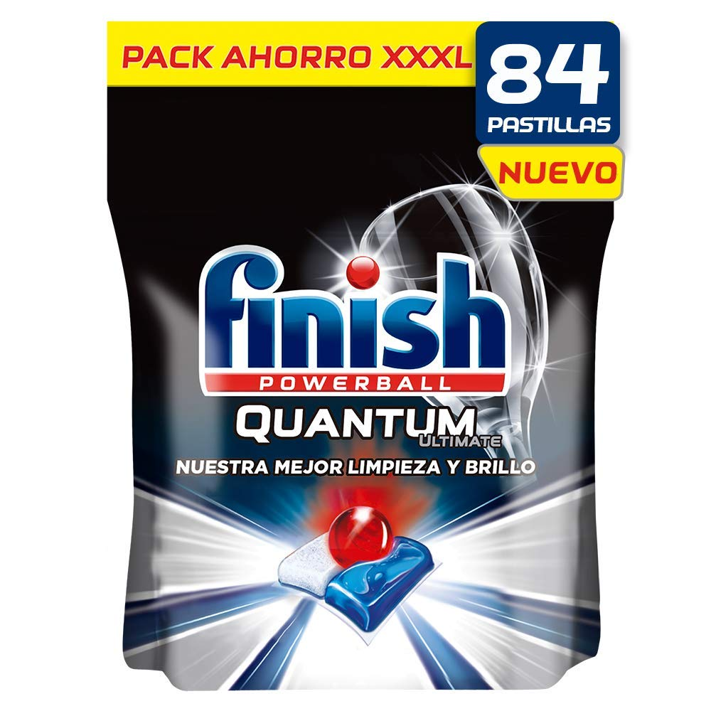 Finish Quantum Ultimate Detergente para Lavavajillas 84 pastillas