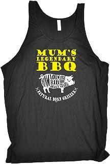 Funny Vest - Mums BBQ Bella Singlet Top Novelty Singlets Slogan Vests Gym