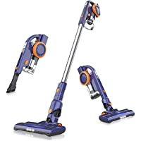 ORFELD Cordless Vacuum Cleaner, 20000Pa Stick Vacuum 4 in 1, Lightweight, Up to 50 Minutes Runtime, with Dual Digital…