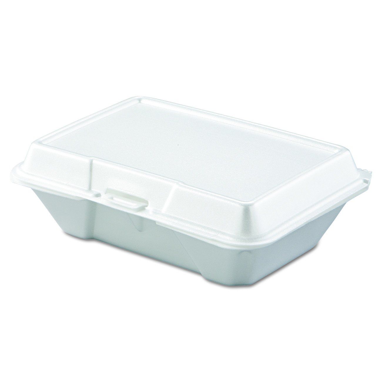 Dart 205HT1 All Purpose Perforated Foam Hinged Container, 9 X 6 in (Case of