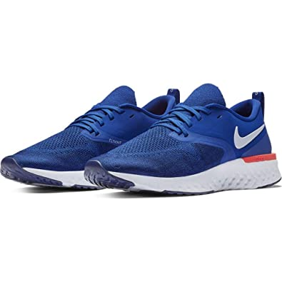 085080285c9f Nike Odyssey React Flyknit 2 Men s Running Shoe Indigo Force White-Blue  Void-