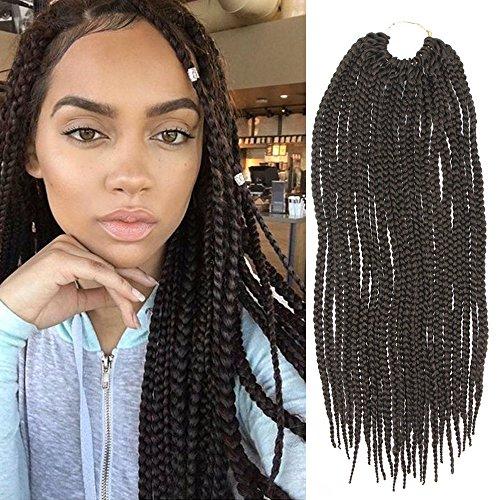 Low Cost Feibin Synthetic Hair Crochet Braid Medium Box Braids
