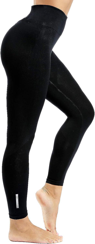 LaLaAreal Pantalones De Entrenamiento Para Mujer Leggings De Yoga Control De Abdomen De Cintura Alta Elástico Para Correr Pilates Fitness …