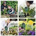 AKEfit Soil pH Meter, 3 in 1 Soil Test Kit for Moisture, Light & pH/Acidity, Gardening Tools for Home and Garden, Lawn, Farm, Plants, Plant Care Soil Moisture Sensor Tester