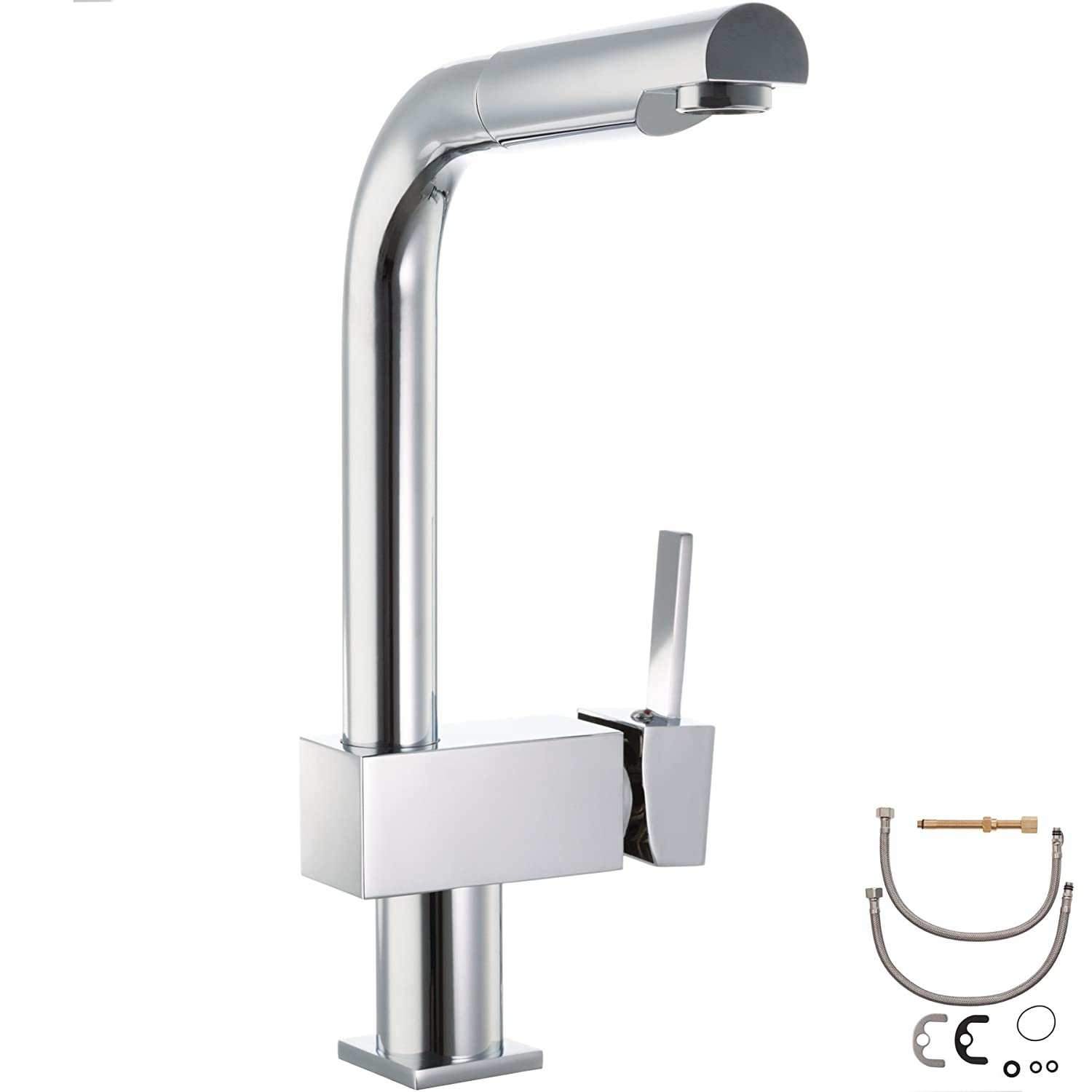 Type 12   402682 TecTake Wash basin faucet bath tap mixer - different models - (Type 12   402682)
