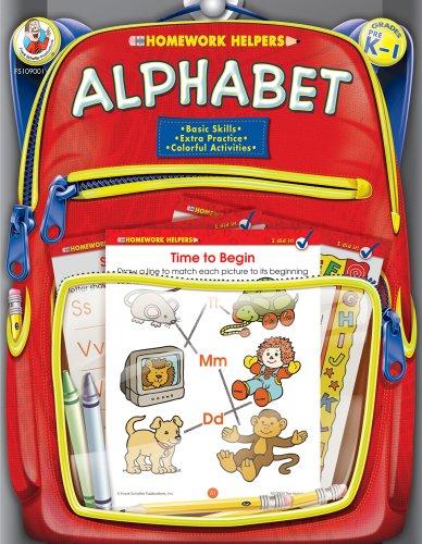 - Alphabet Homework Helper, Grades PreK to 1