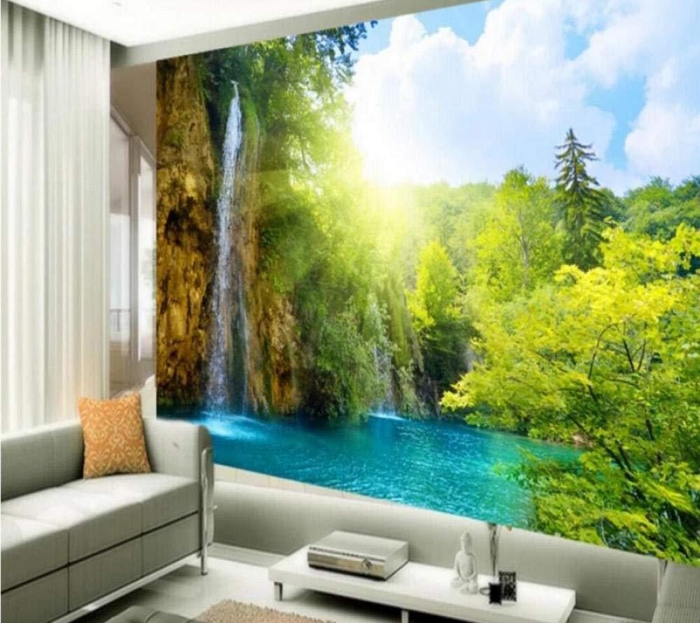 カスタム壁画3dの美しい風景の壁紙3d風景のリビングルームの壁紙の壁画