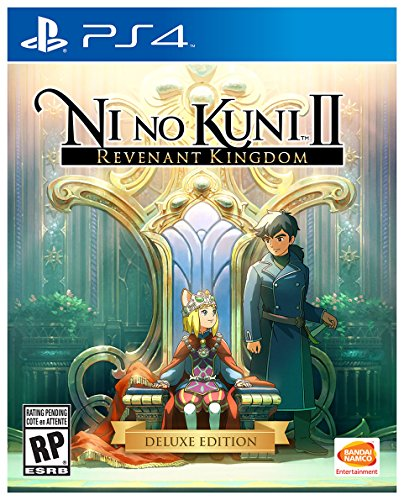 Ni No Kuni II: Revenant Kingdom Deluxe Edition - PS4 [Digital Code] by Bandai