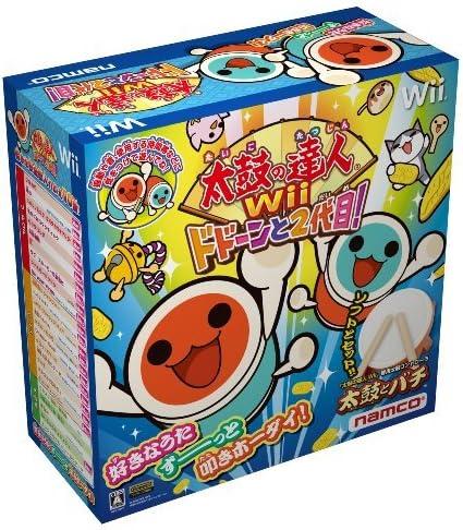Taiko no Tatsujin Wii Dodoon to 2 Yome! (Bundle w/TataCon) [Japan Import] by ???: Amazon.es: Videojuegos