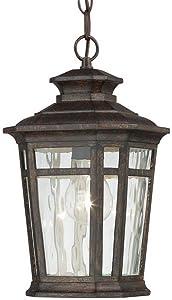 Home Decorators Collection 23124 Pendants & Hanging Fixtures Waterton 1-Light Outdoor