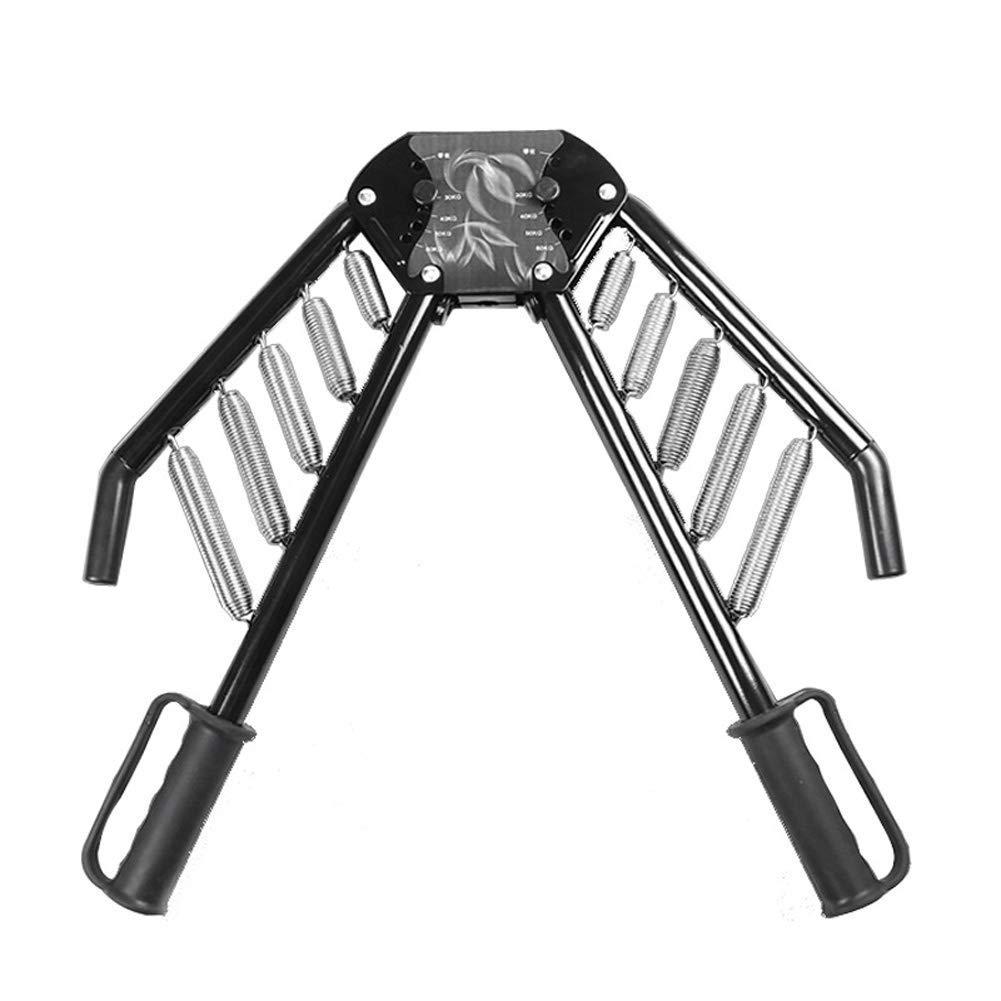 LEWUXIAOLI 4-en-1 Fuerza de Brazo Ajustable 50 kg expansor de Pecho 40kg30kg Barra de Brazo de Resorte 60 kg Agarre de Fitness