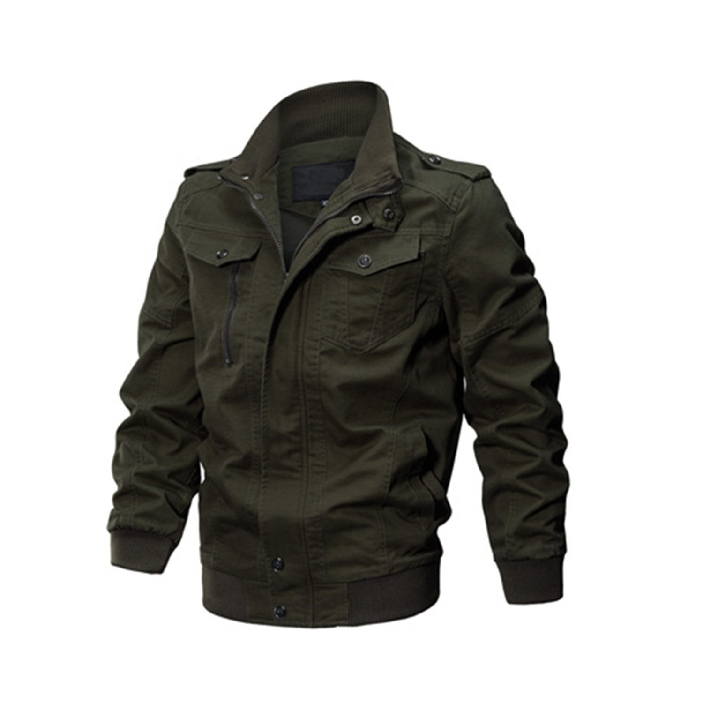 MRstriver Jacket Men Winter Military Army Pilot Bomber Jacket Tactical Man Jacket Coat Jaqueta Masculina Plus Size 6XL SSFC-14 at Amazon Mens Clothing ...