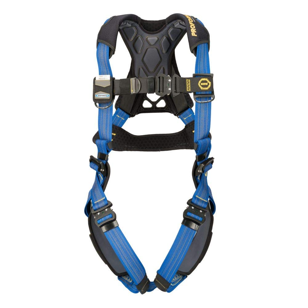 Werner H013002 ProForm F3 Standard Harness, Quick Connect Legs (M/L), 1per Pack