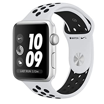 Apple Watch S3 Nike+ - Reloj Inteligente, Color Plata
