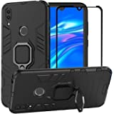 BestAlice for Huawei Y7 2019 Case, Hybrid Heavy Duty Protection Shockproof Defender Kickstand Armor Case Cover Tempered…