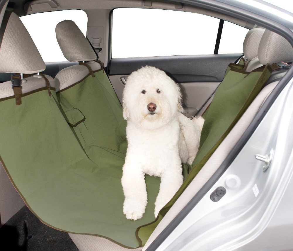 Evelots Waterproof Hammock Pet Seat Cover For Cars,Trucks, SUVs,Washable Barrier