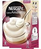 Nescafe | Café instantáneo | Latte Amaretto | 8 palitos por paquete 140gr / 4.94oz