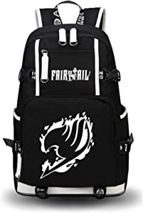YOYOSHome Luminous Anime Fairy Tail Cosplay Daypack Bookbag Laptop Bag Backpack School Bag (4)