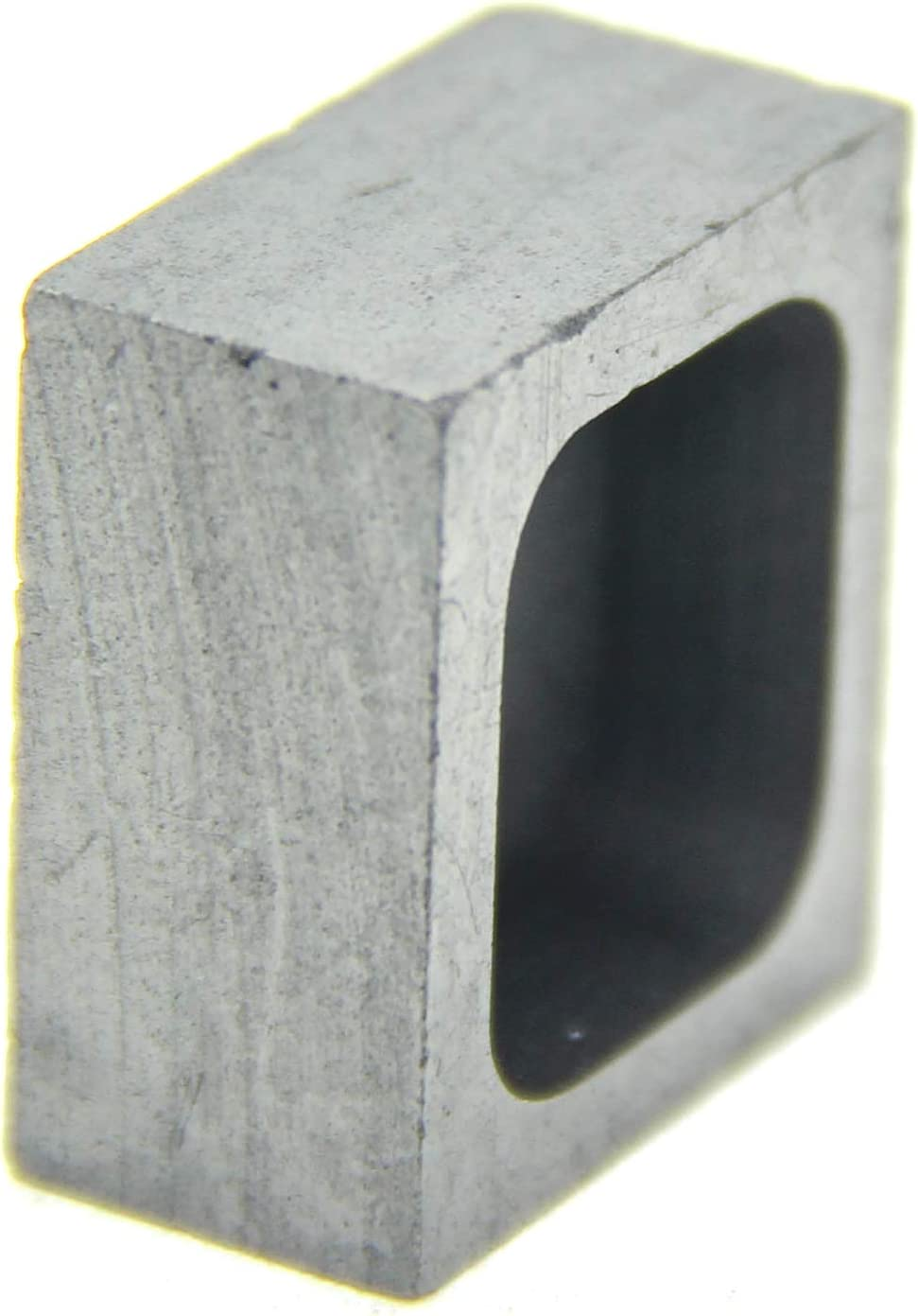 Silver Ingot for Gold Silver Aluminum Copper Brass Zinc Plumbum and Alloy Metals, Melting Casting Mould 100x60x40mm-2000g Gold; 1060g Silver Graphite Ingot Mold