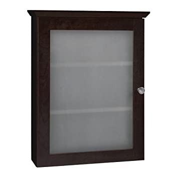Marvelous RSI HOME PRODUCTS Java Finish Medicine Cabinet, 19.25W, X 5D, X24.