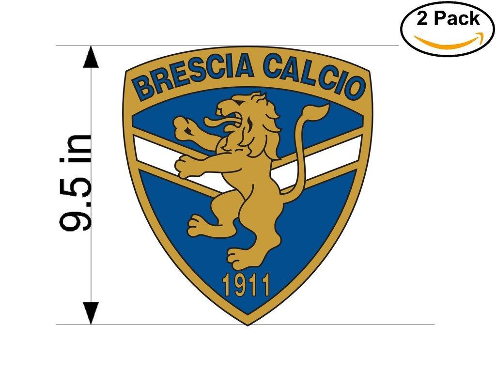 Brescia Italy Soccer Football Club FC 2 Stickers Car Bumper Window Sticker Decal Huge 9.5 inches