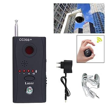 CC308 + Multi detector de señal de buscador de 6500 mhz full Range 3,5 mm jack las chinches buscador de detector inalámbrico de: Amazon.es: Hogar