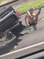Car RUNS OVER Couple On Motorcycle (VIDEO)