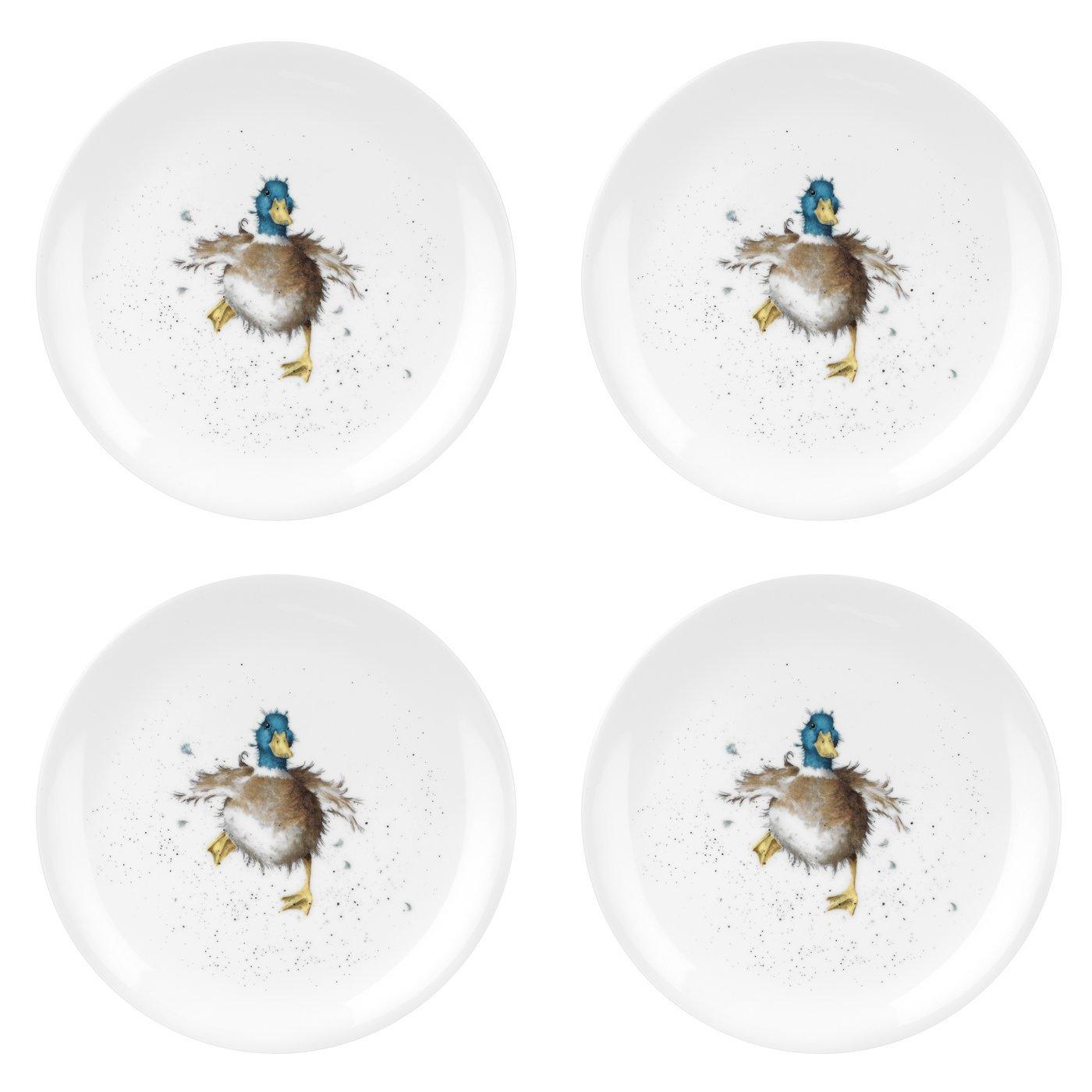 Multicolore Wrendale Coup/é/ Canard /Waddle et dune Assiette Quack