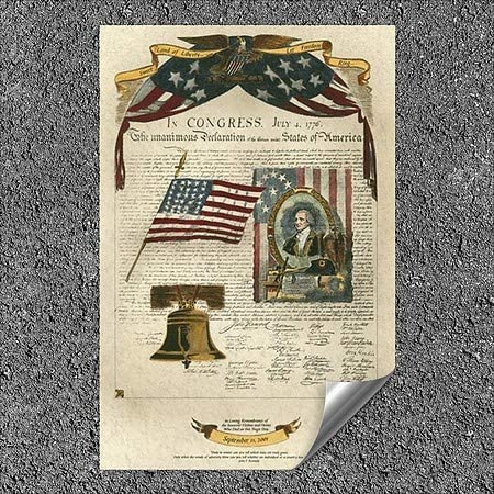 5-Pack CGSignLab | 32x48 Kayla BookmanLet Freedom Ring II Outdoor Contour Wall Decor