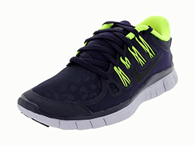 Nike Wmns Free 5.0+ Shield Women Laufschuhe purple dynasty-black-volt-violet frost - 36