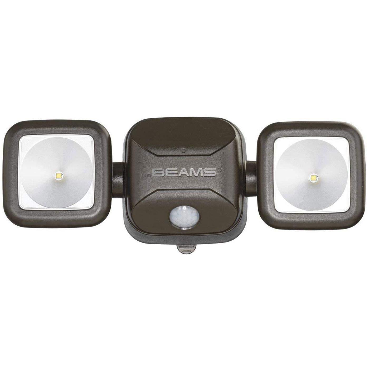 Mr. Beams LED High Performance Security Light MB3000 Sensor braun, Batteriebetrieben