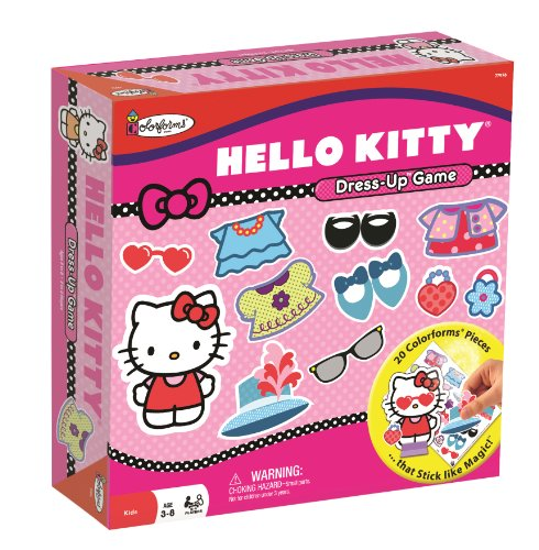 Colorforms Hello Kitty Dress Up Game