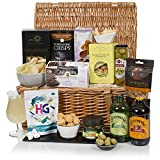 Luxury Alcohol Free Hamper - Traditional Food Hamper in Wicker Basket - Non Alcoholic Gift Baskets