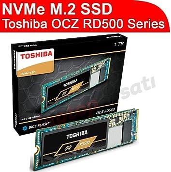 Toshiba RD500 NVMe SSD 1000GB M.2 2280 PCIe 3.0 x4: Amazon.es ...