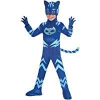 Amscan Costume PJ Mask Cat Boy Luxe (5-6 Anni), Multicolore, 7AM9902965